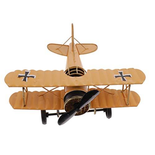 Fenteer Adorno Infantil de Dormitorio de Niños Figurita de Avión para Decoración de Estantería