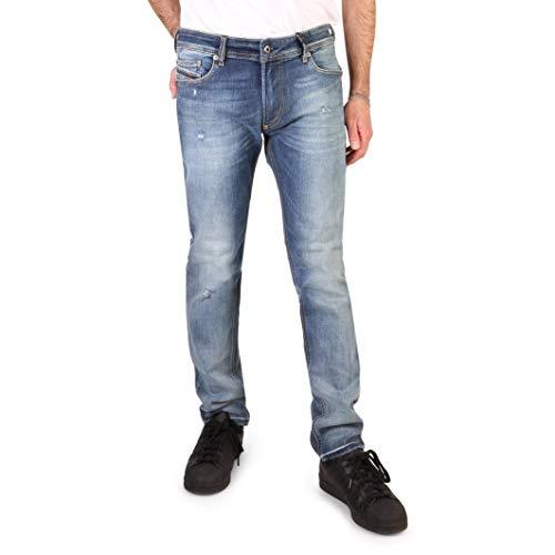 Diesel Thavar-XP RFE04 Herren Jeans Hose Slim Skinny (36W / 32L, Blau)