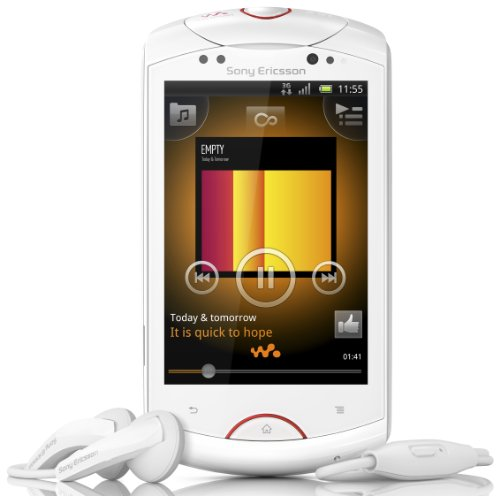 Sony Ericsson Live mit Walkman Smartphone (8,1 cm (3,2 Zoll) Display, Touchscreen, Android 2,3, 5 Megapixel Kamera) weiß