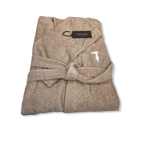 Bademantel mit Kapuze Trussardi Ribbon (Dove Grey 858, L/XL)