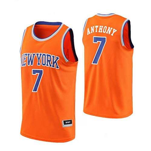 Camiseta Deportiva De Baloncesto Carmelo Anthony New York Kn