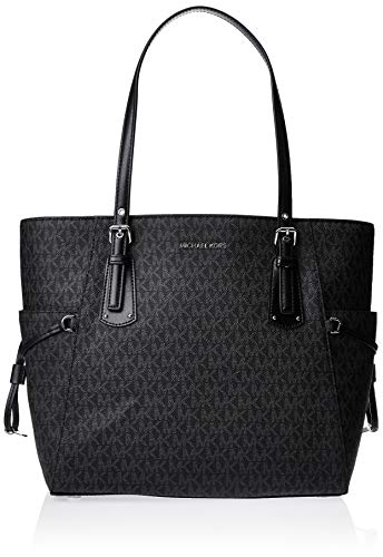 MICHAEL Michael Kors Voyager Logo Faux-Leather Tote