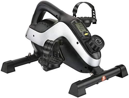 TQ Tragbare Mini-Übungs-Fahrrad Exerciser, Stepper mit Digitalanzeige und einstellbaren Widerstand Fitness motorisierter elektrischer Heimtrainer