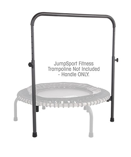 JumpSport Handle Bar Accessory For 39 Arched Leg Fitness Trampolines | Fits Only 39 Diameter JumpSport Rebounder | Trampoline Not Included (HAN-S-21050-01)