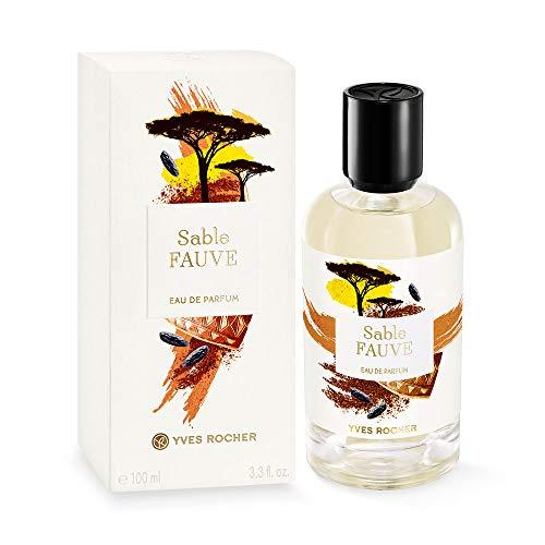 Yves Rocher LA COLLECTION Eau de Parfum Sable Fauve, sinnlich-orientalisches Parfum mit Tonkabohne, 1 x Zerstäuber 100 ml
