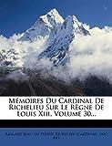 Mémoires Du Cardinal De Richelieu Sur Le Règne De Louis Xiii, Volume 30...