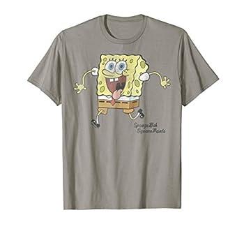SpongeBob SquarePants Tongue Out Run Graphic T-Shirt