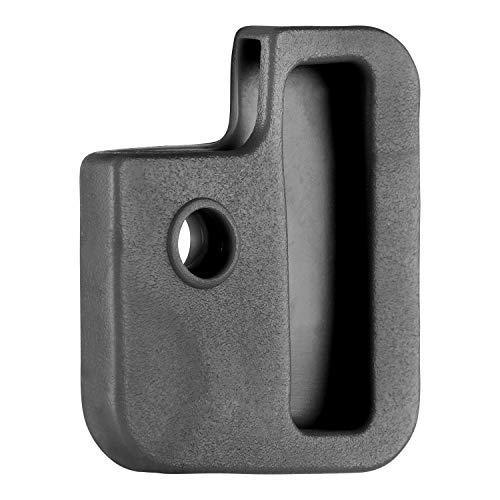 van den Heuvel -Schwarze Schlüsselkappe für eckige Schlüssel (24mm x 28mm) mit mehreren Aussparungen