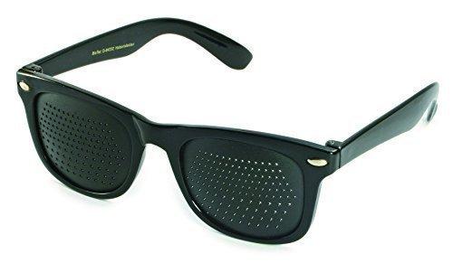 Rasterbrille 415-SSB bifocaler Raster, schwarz