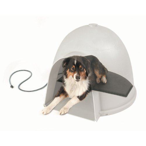 K&H Pet Products Lectro-Kennel Igloo-Style Heated Pad, Large