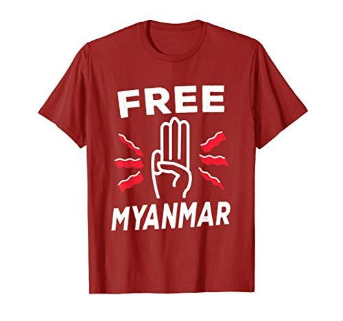 Free Myanmar T-Shirt