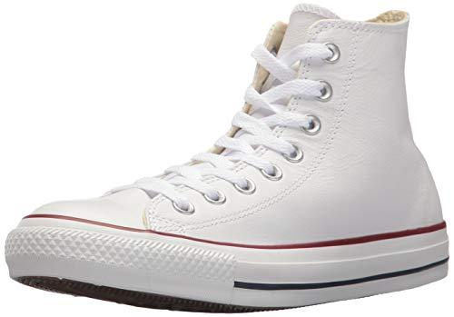 Converse Chuck Taylor all Star Hi Bianca (Optical White) Pelle 36½ EU