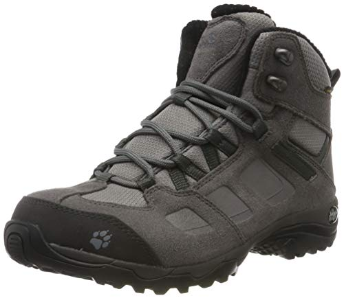 Jack Wolfskin Damen Vojo Hike 2 WT Texapore MID W Trekking-& Wanderstiefel, Grau (Tarmac Grey/Dark Steel 6122), 38 EU