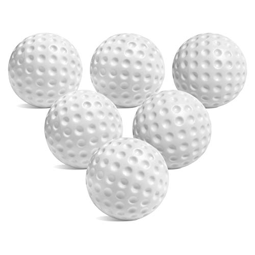 Botabee Toddler & Little Kids Replacement Golf Ball - for Little Tikes Golf Set - 6 Pack | Oversized, Plastic Golf Balls for Beginners