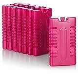 com-four® 8X compresa fría para Nevera portátil - Elementos de refrigeración para Nevera portátil - compresa fría para el hogar y el Ocio - 220 ml (Rosa)