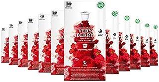 BIO Teekapseln von My-TeaCup | Kompatibel mit Nespresso-Maschinen | 100% kompostierbare Kapseln ohne Alu Früchtetee Very Berry, 120 Kapseln