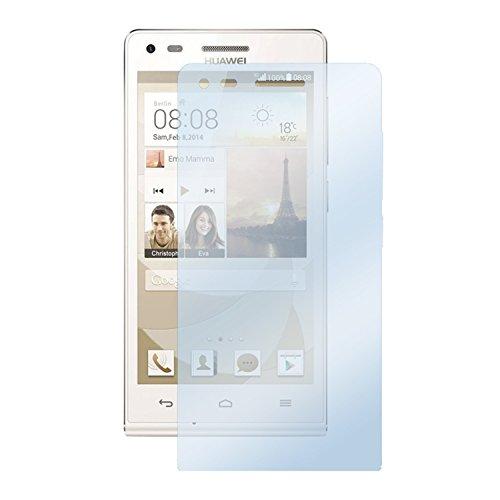 deinPhone Huawei Ascend G6 1x Folie Bildschirmschutz Clear Durchsichtig