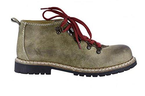 Spieth & Wensky Herren Jonah Boots Nubukleder antik braun Gr.40