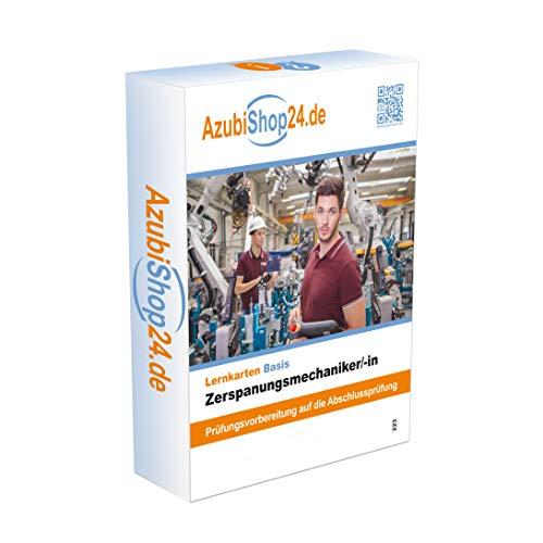 E-Book Zerspanungsmechaniker /in Lernkarten Prüfungsvorbereitung:  Zerspanungsmechaniker /in Lernkarten Prüfungsvorbereitung Prüfung