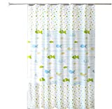 XHCP Duschvorhänge Bad wasserdicht Vorhang Sanitär Trennwand Duschvorhang Duschraum Fenstervorhang, Duschvorhang Multi-Size-Einzelvorhang 300 breit * 200 hoch + Ring