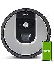 Robot odkurzający iRobot Roomba 971 z łącznością Wi-Fi z zasysaniem podnoszącym i 2 gumowymi szczotkami głównymi do wszystkich powierzchni, funkcja nawigacji w każdym pomieszczeniu