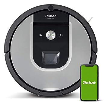 Foto di iRobot Roomba 971, Robot aspirapolvere WiFi, Power-Lifting, Dirt Detect, Adatto per peli di Animali Domestici, Tecnologia Imprint, Sistema Pulizia 3 Fasi, programmabile con App, Argento