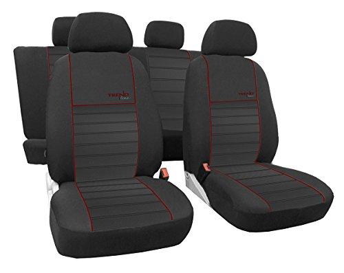 EJP Maßgefertigtes Autositzbezugset Golf VII Sportsvan ab 2013.Design Trend Line (erhältlich in 6 Farben).