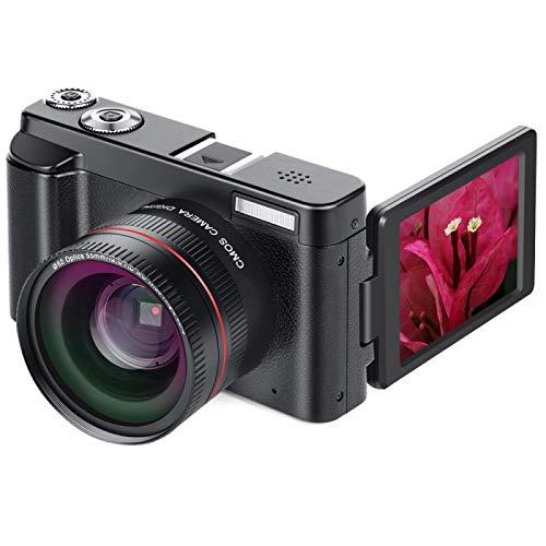 lizeyu Cámara digital 1080P, cámara de vídeo digital, cámara, mini cámara réflex digital, cámara principiante