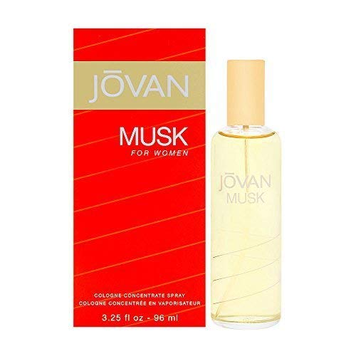 Jovan Musk Women Cologne Concentrate Spray by Jovan, 3.25 Ounce (Pack of 3)
