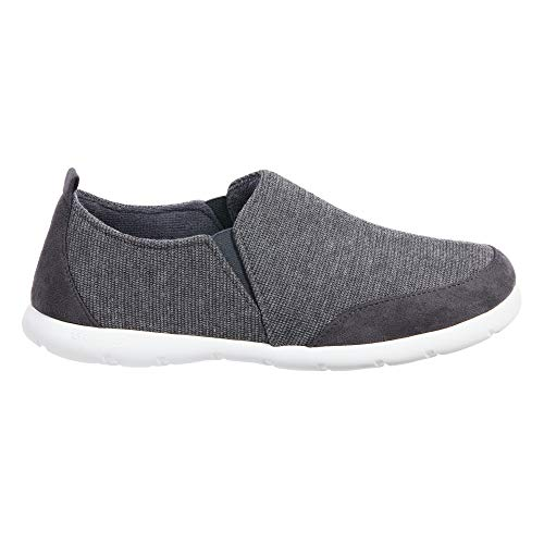 ISOTONER Zenz Men's Sport Knit Slip-On Walking Shoe, 13US, Mineral