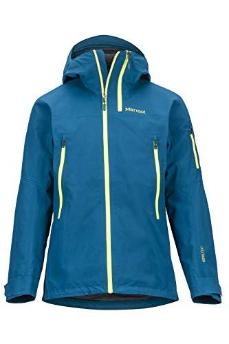 Marmot Herren Freerider Hardshell Regenjacke, Winddicht, Wasserdicht, Atmungsaktiv, Moroccan Blue, S