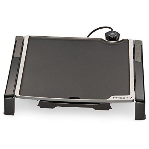 Presto 07071 15-inch Electric Tilt-n-fold Griddle, Black
