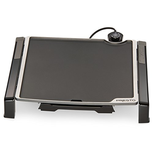 Review Of Presto 07071 15-inch Electric Tilt-n-fold Griddle, Black