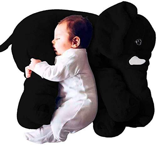 PetKids Kissen Baby Elefant Plüsch Puppe Baby Kissen für Jungen Mädchen und Babys Kleinkind Neugeborene