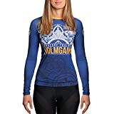 Hardcore Training Holmgang Rash Guard Women Camisa de Compresión Manga Larga Mujer...