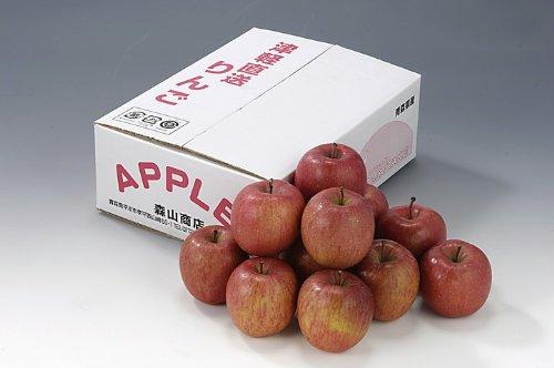 青森県産 蜜入り サンふじ りんご 蜜秀 3kg 10〜11玉 フルーツギフト 果物 ギフト