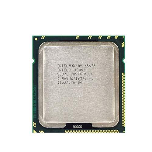 Procesador Intel Xeon X5675 (12 M caché 3,06 GHz 6,40 GT/s Intel QPI) (reacondicionado certificado)