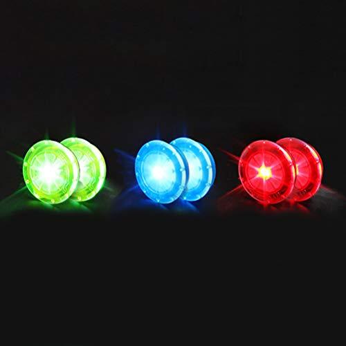 Amiispe Las Luces de Rueda de Bicicleta LED iluminan Las Rue