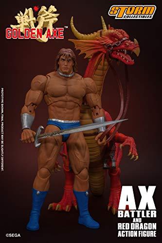 Storm Collectibles 1/12 Ax Batler & Red Dragon Golden Axe, Multi