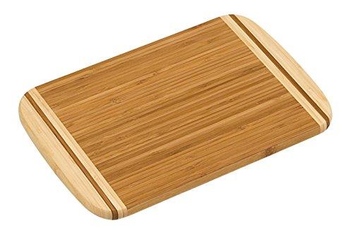 Kesper 58110 Nature - Tabla de cortar, bambú, 30 x 20 x 1,6 cm.