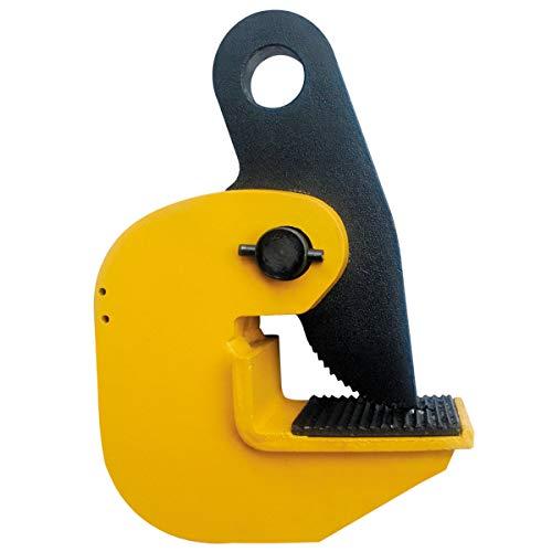 2 Ton Horizontal Locking Plate Lifting Clamp 4400 lbs Capacity