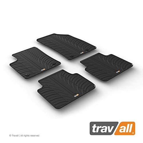 Travall Mats Gummifußmatten TRM1293 – Allwettermatten Nach Maß Fussmatten Set