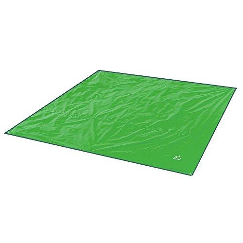 Terra Hiker Tappetino da Picnic Base per la Tenda Impermeabile per Campeggio Escursionismo (Verde, 240 x 220 CM)