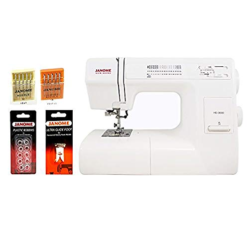 Janome HD1000 Mechanical Sewing Machine w/ FREE BONUS Package! by Janome