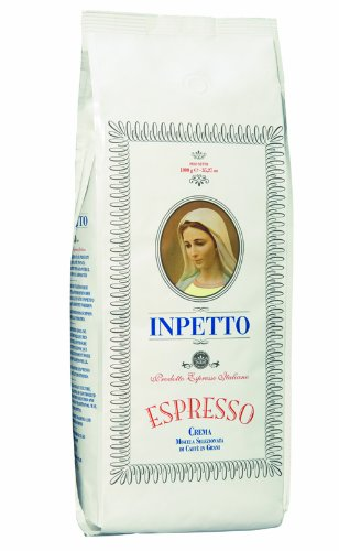 INPETTO - Caffé Busta Bianco, 1000 g, Bohne