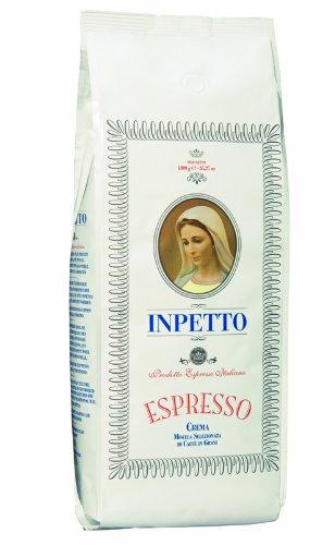 Inpetto Caffé Busta Bianco, 1000 g, Bohne