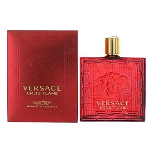 Versace Eros Flame for Men Eau De Parfume Spray 6.7 Ounce, Red
