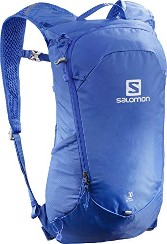 Salomon Mochila de senderismo 10L, Unisex, TRAILBLAZER 10, Azul (Nebulas Blue), LC1395600