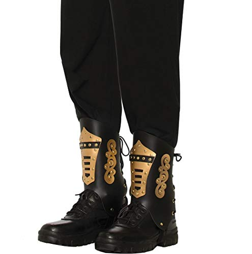 Steampunk Black & Gold Boot Tops