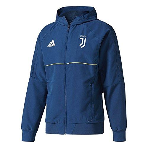 adidas Herren Juventus Turin Präsentationsjacke, Blau/Azunoc/Dorfue, XL